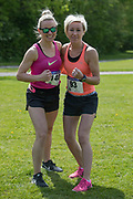 NO FEE PICTURES<br /> 19/5/18 Hundreds of people of all ages lapped up the summer sunshine when they came out to support an important cause which is close to many of their hearts, organ donation, by taking part in the Irish Kidney Association's 'Run for a Life' family fun run which took place at Corkagh Park, Clondalkin, Dublin 22 on Saturday 19th May.   (www.runforalife.ie) Pictured Brid McGill, Paula Guinan, Portlaoise. Picture:Arthur Carron