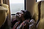 27022019. INDE. BIHAR. La caravane de la paix Karwan-e-Mohabbat. Natasha Badwhar, documentariste et auteure.