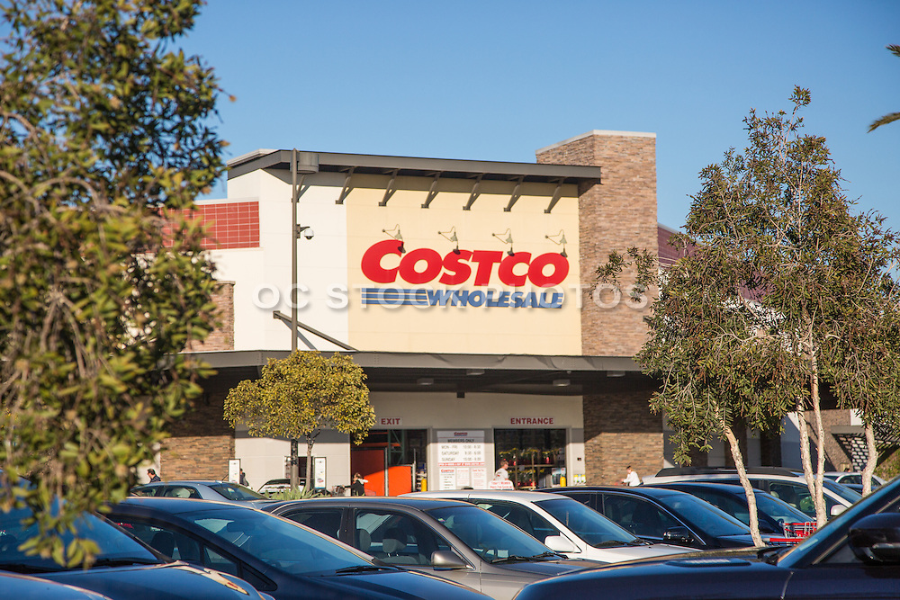 Costco Wholesale Store at The Tustin Market Place in Orange County California