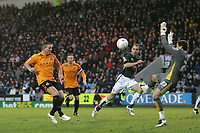 Photo: Lee Earle.<br /> Plymouth Argyle v Hull City. FA Cup Third Round. 05/01/2008. <br /> Hull's Dean Windass (L) lobs Plymouth keeper Luke McCormick to score their first.