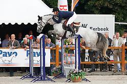 Ellerman Hanno (NED) - Wizzerd<br /> KWPN Paardendagen Ermelo 2010<br /> © Dirk Caremans