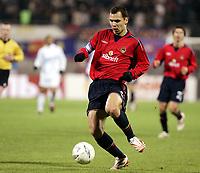 Fotball<br /> Foto: Dppi/Digitalsport<br /> NORWAY ONLY<br /> <br /> FOOTBALL - UEFA CUP 2005/2006 <br /> <br /> CSKA MOSKVA v OLYMPIQUE DE MARSEILLE - 20/10/2005<br /> <br /> SERGEI IGNASHEVICH (MOS)
