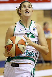Kristina Verbole at basketball qualification match of women division B  between National teams of Slovenia and Netherlands, on August 27, 2008, in Vitranc Hall, Kranjska Gora. Win of NED 83:81. (Photo by Vid Ponikvar / Sportida)