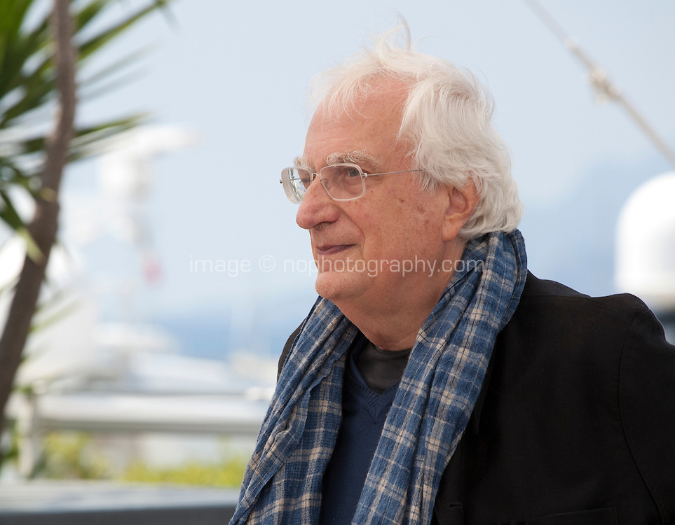 Director Bertrand Tavernier at the Voyage A Travers Le Cinema Français photo call at the 69th Cannes Film Festival Tuesday 17th May 2016, Cannes, France. Photography: Doreen Kennedy
