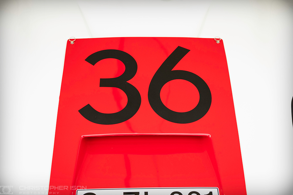 Car number 36.<br /> Picture date: Saturday April 6, 2019.<br /> Photograph by Christopher Ison ©<br /> 07544044177<br /> chris@christopherison.com<br /> www.christopherison.com
