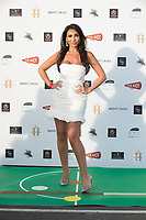 """Francine Lewis  at the """"Break"""" Drive-In World Premiere at Brent Cross Shopping Centre in London"""