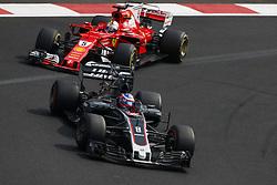 October 29, 2017 - Mexico-City, Mexico - Motorsports: FIA Formula One World Championship 2017, Grand Prix of Mexico, .#8 Romain Grosjean (FRA, Haas F1 Team) (Credit Image: © Hoch Zwei via ZUMA Wire)