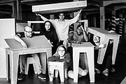 Alee du Kaai portretten petit espace acteurs Brussels Belgium 2017