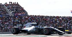 October 21, 2018 - Austin, United States - Motorsports: FIA Formula One World Championship; 2018; Grand Prix; United States, FORMULA 1 PIRELLI 2018 UNITED S GRAND PRIX , Circuit of The Americas#44 Lewis Hamilton (GBR, Mercedes AMG Petronas F1 Team) (Credit Image: © Hoch Zwei via ZUMA Wire)