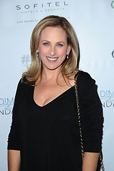 """Marlee Matlin at the kick-off of """"Love And Language"""" in Los Angeles, California"""