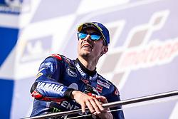 October 28, 2018 - Melbourne, Victoria, AUSTRALIE - MAVERICK VINALES - SPANISH - MOVISTAR YAMAHA MotoGP - YAMAHA (Credit Image: © Panoramic via ZUMA Press)