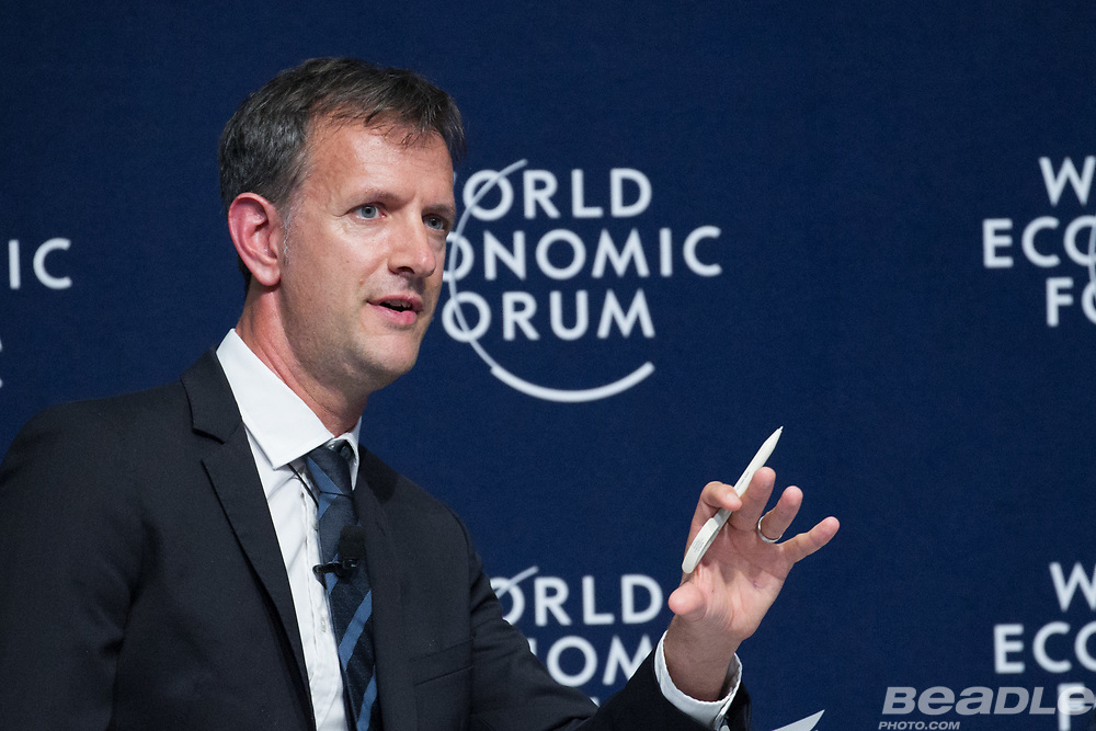 Oliver Cann, Head of Media Content, World Economic Forum at the World Economic Forum on Africa 2017 in Durban, South Africa. Copyright by World Economic Forum / Greg Beadle