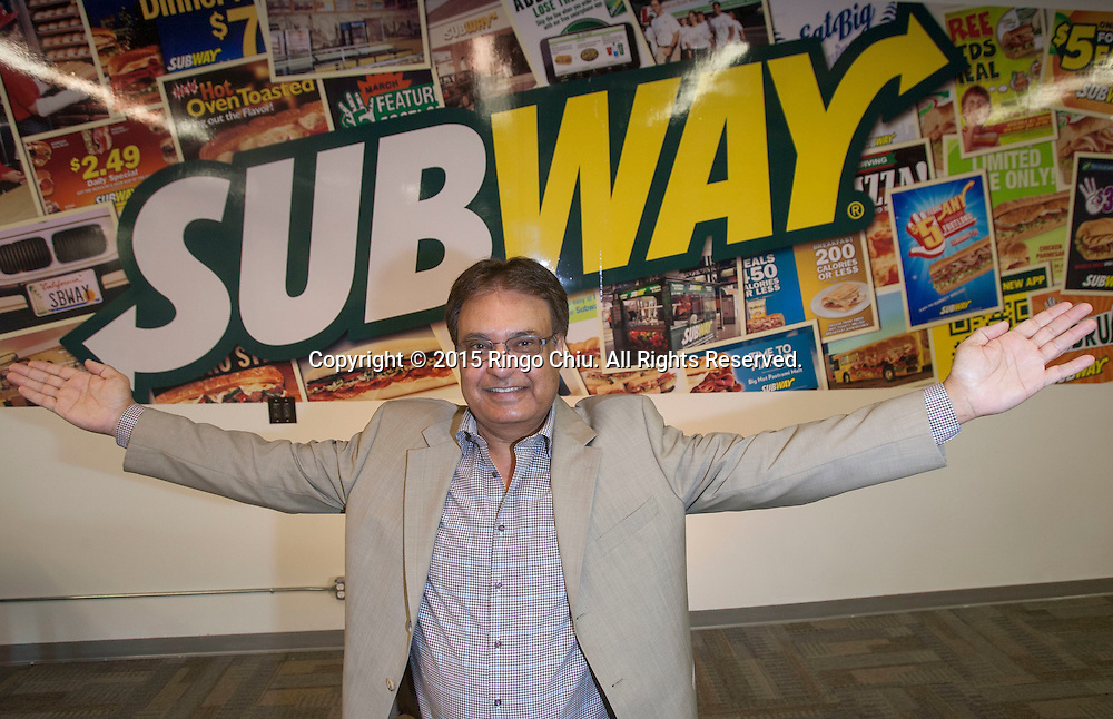 Hardy Grewal, head of Oh Cal Foods, district franchise selector for Subway. (Photo by Ringo Chiu/PHOTOFORMULA.com)