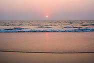Talpona Beach sunset, South Goa, India