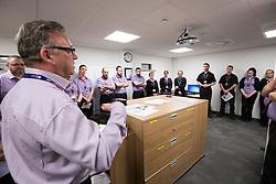 Matt shadowing Edinburgh Airport's chief exec Gordon Dewar as he runs Scotland's busiest airport. Airport security chief Pat Welldone.