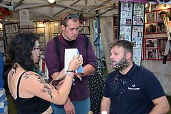 Latitude Festival 2017, Henham Park, Suffolk, UK. Glitter is the essential accessory this year