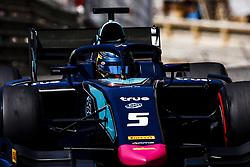 May 25, 2018 - Montecarlo, Monaco - 05 Alexander ALBON from Thailand of DAMS during the Monaco Formula Two race 1  at Monaco on 25th of May, 2018 in Montecarlo, Monaco. (Credit Image: © Xavier Bonilla/NurPhoto via ZUMA Press)