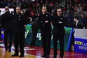 Pianigiani Simone, Fioretti Mario<br /> Openjobmetis Varese - EA7 Emporio Armani Milano<br /> Legabasket A 2017-2018<br /> Varese 28 /01/2018<br /> Foto Ciamillo-Castoria / GiulioCiamillo