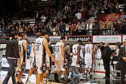 DESCRIZIONE : Caserta Lega A 2014-15 Pasta Reggia Caserta Giorgio Tesi Group Pistoia<br /> GIOCATORE : Team Pasta Reggia Caserta<br /> CATEGORIA : contestazione proteste fischi delusione<br /> SQUADRA :  Pasta Reggia Caserta<br /> EVENTO : Campionato Lega A 2014-2015<br /> GARA : Pasta Reggia Caserta Giorgio Tesi Group Pistoia<br /> DATA : 02/11/2014<br /> SPORT : Pallacanestro <br /> AUTORE : Agenzia Ciamillo-Castoria/A. De Lise<br /> Galleria : Lega Basket A 2014-2015 <br /> Fotonotizia : Caserta Lega A 2014-15 Pasta Reggia Caserta Giorgio Tesi Group Pistoia