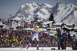 February 21, 2019 - Seefeld In Tirol, AUSTRIA - 190221 Jonna Sundling of Sweden competes in women's cross-country skiing sprint qualification during the FIS Nordic World Ski Championships on February 21, 2019 in Seefeld in Tirol..Photo: Joel Marklund / BILDBYRÃ…N / kod JM / 87879 (Credit Image: © Joel Marklund/Bildbyran via ZUMA Press)