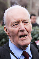 Tony Benn, Former Labour politician and cabinet minister has died aged 88 at his home in west London, 14 March 2014