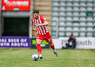 Sunderland Forward Jordan Jones (27) runs with the ball and attacking ,full length portrait  during the EFL Sky Bet League 1 match between Plymouth Argyle and Sunderland at Home Park, Plymouth, England on 1 May 2021.