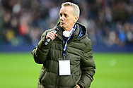 TV personality Frank Skinner during the Premier League match between West Bromwich Albion and Southampton at The Hawthorns, West Bromwich, England on 3 February 2018. Picture by Dennis Goodwin.