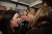 ALLIE ESIRI; HELEN FIELDING , Allie Esiri's The Love Book launch party , Daunt Books <br /> 83 Marylebone High Street, London. 5 February 2014