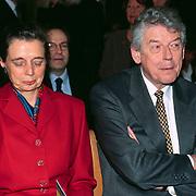 Mattheus Passion 1998 Naarden, Wim Kok en vrouw Rita Roukema