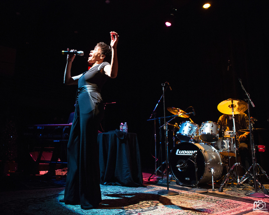 Bettye LaVette performs at The Kessler Theater in Dallas on November 29, 2012.  (Stan Olszewski/The Dallas Morning News)