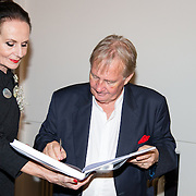 NLD/Heemstede/20151116 - Boekpresentatie De Zin van het Leven, Ans Markus en Karel Hille