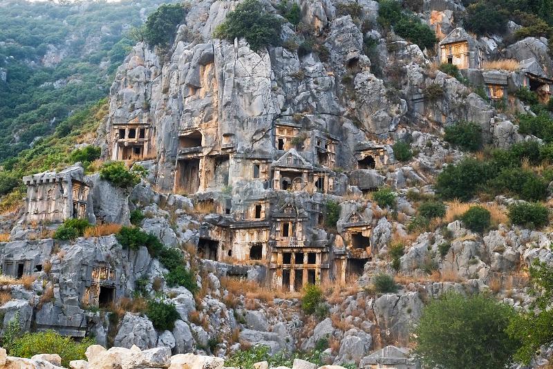 Necrópolis de Mira, antigua ciudad griega de Licia, Antalya, Turquía. ©Iria Pena Iria Pena / PILAR REVILLA