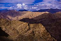 Mountains, Leh Valley, Ladakh, Jammu and Kashmir State, India.