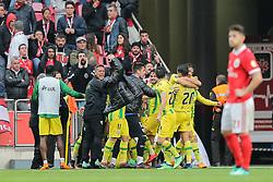 April 30, 2018 - Na - Lisbon, 04/28/2018 - Sport Lisboa e Benfica received this afternoon at the Estádio da Luz in Lisbon, CD Tondela in the 32nd matchday of the NOS Primera Liga, season 2017/2018. Feast of the Tondela  (Credit Image: © Atlantico Press via ZUMA Wire)