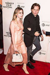 Lea Seydoux, Ewan McGregor and daughter daughter Clara Mathilde McGregor attend the 'Zoe' premiere during Tribeca Film Festival in New York. 21 Apr 2018 Pictured: Clara Mathilde McGregor, Ewan McGregor. Photo credit: MEGA TheMegaAgency.com +1 888 505 6342