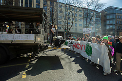 March 22, 2019 - Munich, Bavaria, Germany - On 22.3.2019 1000-2000 young people protested in Munich against climate change and for the protection of the environment. (Credit Image: © Alexander Pohl/NurPhoto via ZUMA Press)