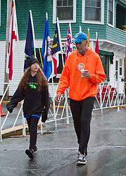 Mount Desert Island Marathon:  Matilda and Gary Allen
