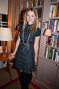 AMBER ATHERTON, Dinner to celebrate the opening of Pace London at  members club 6 Burlington Gdns. The dinner followed the Private View of the exhibition Rothko/Sugimoto: Dark Paintings and Seascapes.