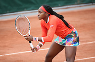 Cori Coco Gauff of USA during day 4 of the French Open 2021, Grand Slam tennis tournament on June 2, 2021 at Roland-Garros stadium in Paris, France - Photo Jean Catuffe / ProSportsImages / DPPI