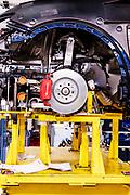 TORINO, Mirafiori, Produzione Maserati Levanto, the production chain of Maserati Levante