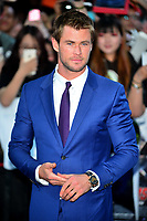 OIC - ENTSIMAGES.COM - Chris Hemsworth  at The Avengers: Age of Ultron - European Film Premiere at Vue Westfield, Westfield Shopping Centre in London, England. 21st April 2015.          Photo Ents Images/OIC 0203 174 1069
