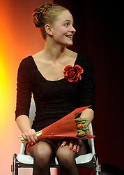 13-12-2010 ALGEMEEN: TOPSPORT GALA AMSTERDAM: AMSTERDAM<br /> In de Westergasfabriek werd het gala van de beste sportman, -vrouw, coach en ploeg gekozen / Esme Vermeulen<br />  2010©2010-WWW.FOTOHOOGENDOORN.NL