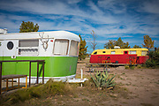 El Cosmico lodging in Marfa, Texas