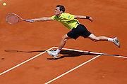Roland Garros. Paris, France. May 28th 2012.German player Tobias KAMKE against Roger FEDERER...