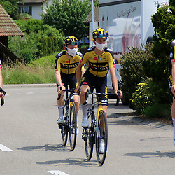 GSTAAD (SUI) CYCLING<br /> Tour de Suisse stage 4<br /> Team Jumbo Visma