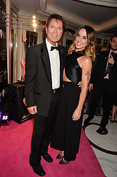 Singers SIR CLIFF RICHARD and MEL C at the annual PINKTOBER Gala presented by Hard Rock Heals at The Dorchester, Park Lane, London on 14th October 2016.  The annual event raises money for The Caron Keating Foundation.