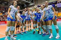 23-08-2017 NED: World Qualifications Greece - Slovenia, Rotterdam<br /> SloveniÎ wint met 3-0<br /> Photo by Ronald Hoogendoorn / Sportida