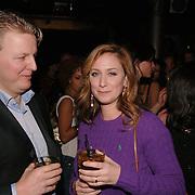 NLD/Amsterdam/20060123 - Feest release film 50 Cent, Fabienne de Vries en vriend