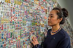 Zhang Yanzi exhibition, Edinburgh, 26 April 2018
