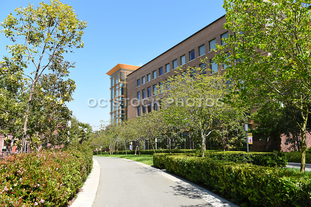 Engineering Hall on the Campus of the University of California Irvine
